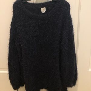 Fuzzy Sparkly Fun Sweater!